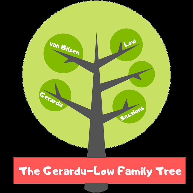 The Gerardu-Low Family Tree
