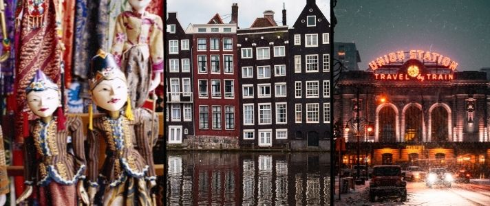 Gallery of photos of the Netherlands, Indonesia, and Colorado