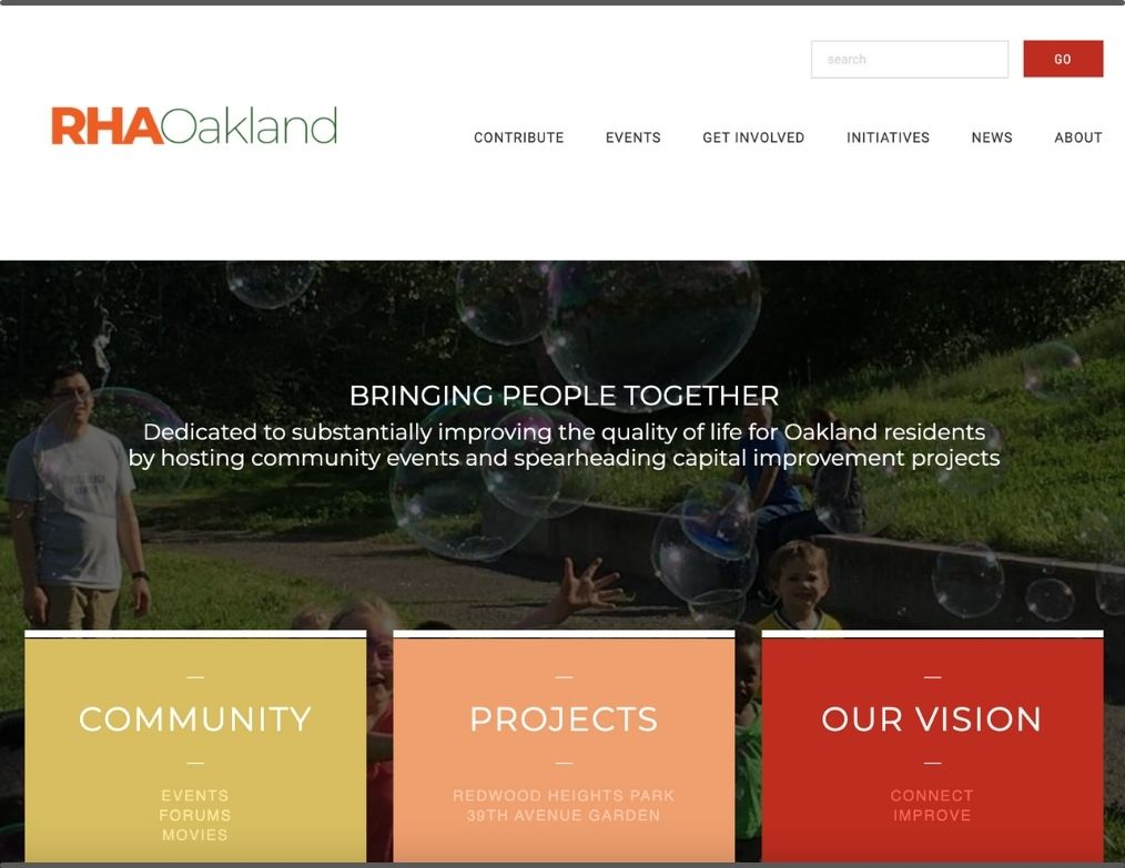 Redwood Heights Association home page